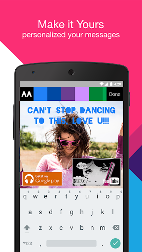 Music Messenger 3.2.7 screenshots 5
