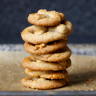 Sugared Pretzel Cookies.