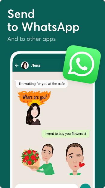 Mirror Avatar Maker & Emoji Sticker Keyboard Android App Screenshot