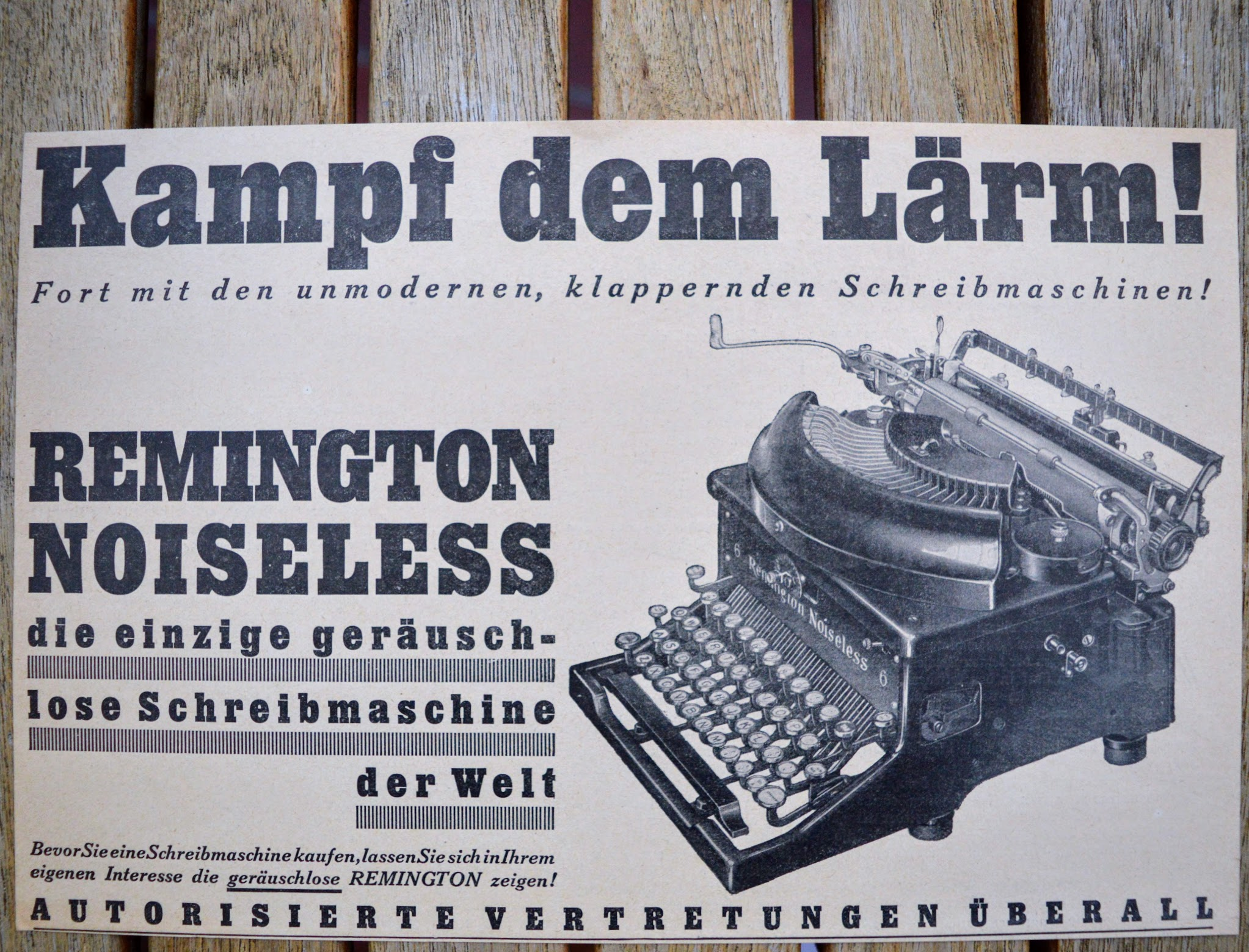 Remington Noiseless - Werbung - Kampf dem Lärm!