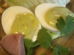 Low Carb Green Eggs & Ham-avocado Deviled Eggs Recipe