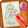 Learn to Draw Shopkins APK icon