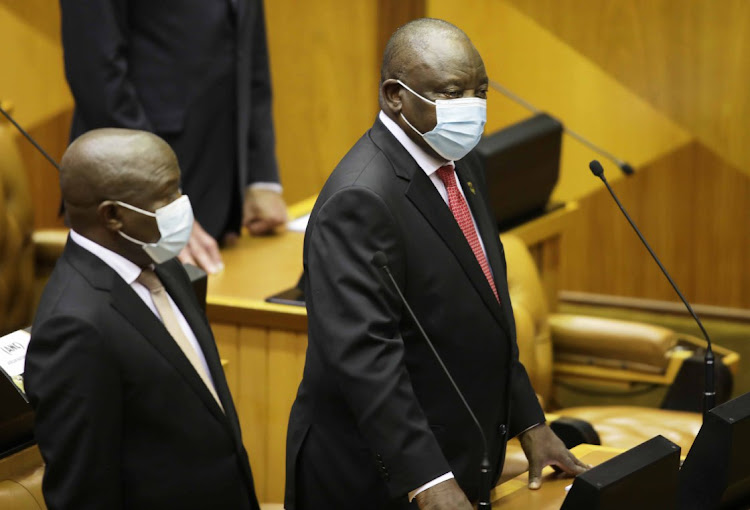 President Cyril Ramaphosa delivers his fifth State of the Nation address.