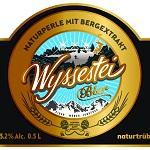 Logo for Wyssestei Bier