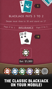 Royal Blackjack Casino: 21 Card Game- screenshot thumbnail