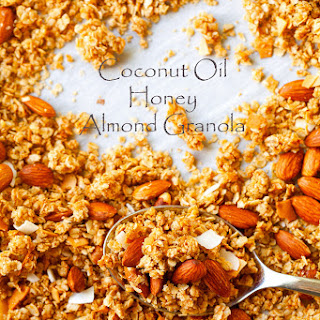 Extra Clustery Coconut Oil Honey Almond Granola