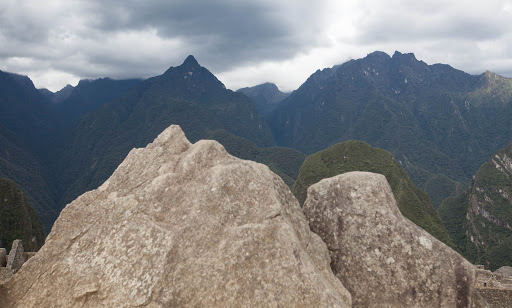 The Incas created a scale model that traced the outline of the sacred mountains at Machu Picchu.