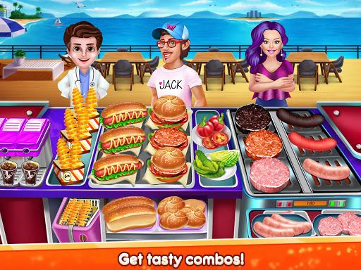 Kitchen Star Craze - Chef Restaurant Cooking Games 1.1.4 screenshots 2
