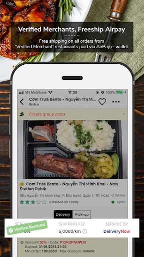 Now.vn - Food Delivery  screenshots 4
