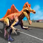 Jurassic Dinosaur City Attack Battle