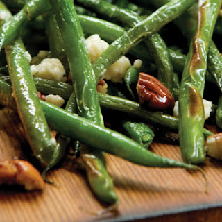 Alder Planked Green Beans