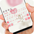 Girl love Balloon Keyboard icon