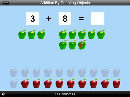 Addition By Counting Objects
