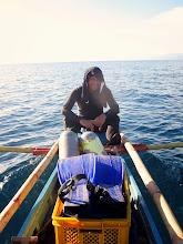 Photo: Gerry Sucano after a dive