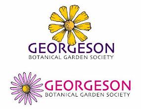 "Photo: ""Georgeson Botanical Garden Society"" alternative logo designs"