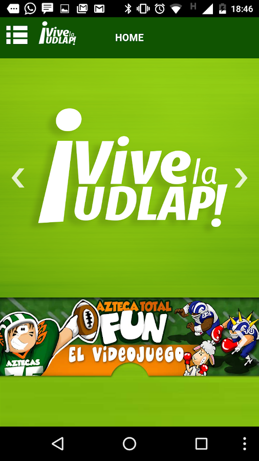 Vive la UDLAP- screenshot