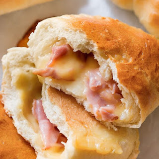 Homemade Ham & Cheese Pockets Recipe