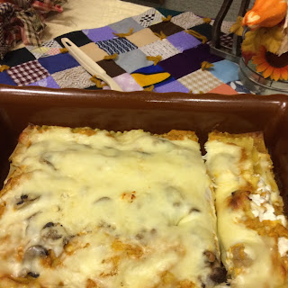 Pumpkin Lasagna Meatless