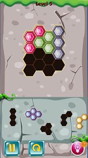 Hexa Puzzle Reborn - náhled