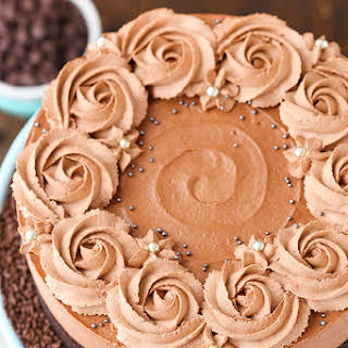 Guinness Chocolate Mousse Cake.