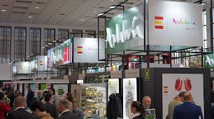Feria comercial Fruit Logística de 2019.