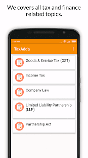 TaxAdda- screenshot thumbnail