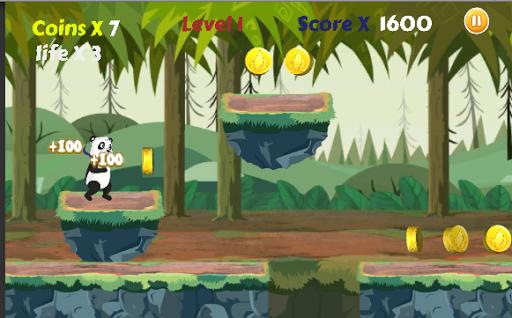 Télécharger Gratuit Panda run APK MOD (Astuce) screenshots 5