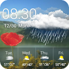 Weather Clock Widget Thriving icon
