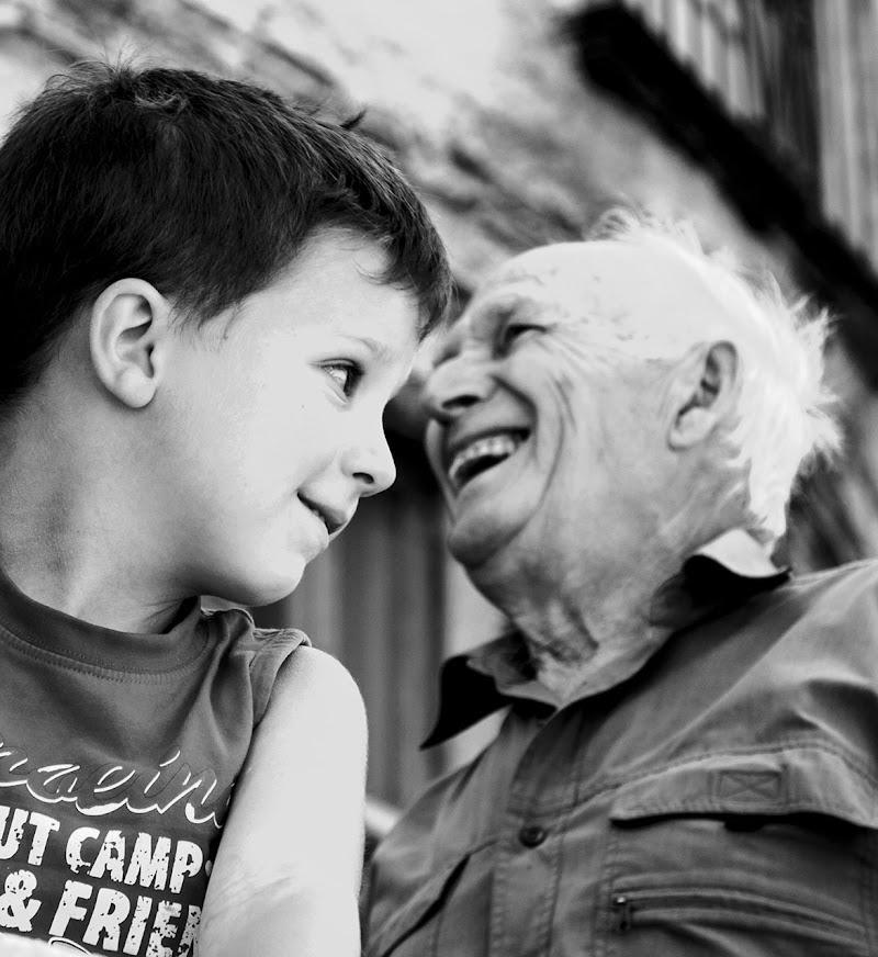 tra nonno e nipote ..... di faranfaluca