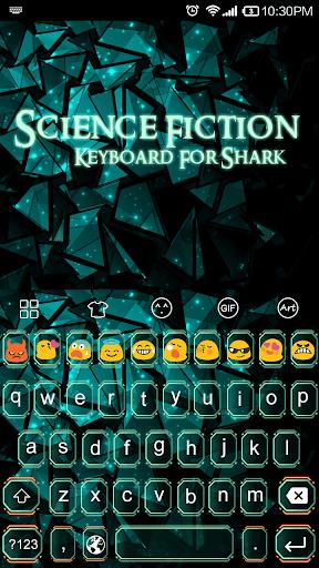 Science Fiction-Emoji Keyboard