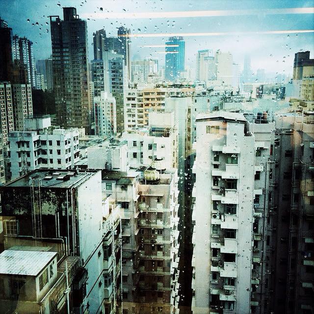 After, Building, skyscrapers, hong kong, Rainstorm, 大廈, 後, 暴雨, 香港, 高樓,