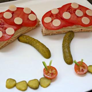 Nature's Harvest Sandwich Art