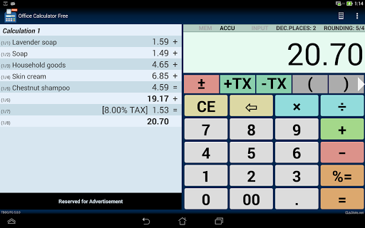 office calculator free download