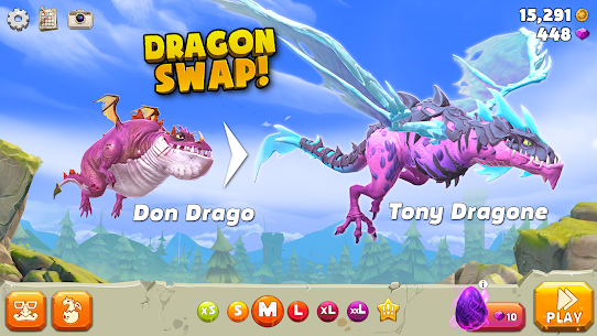 Hungry Dragon MOD APK 2.10 (MEGA HACK + Unlimited Coins) 1