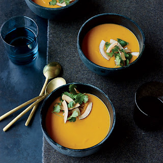 Sweet Potato–Coconut Soup with Thai Curry.