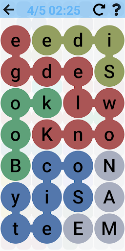 Word Search - Free word games. Snaking puzzles filehippodl screenshot 2