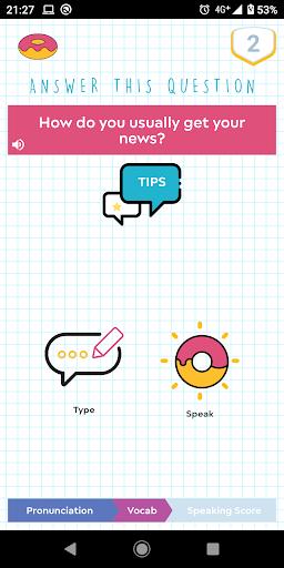 Donut Language Game screenshot 5