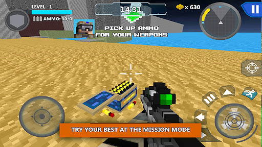 Cube Wars Battle Survival apkdebit screenshots 4