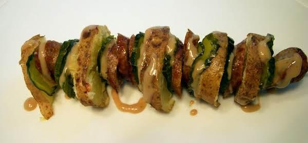 German Bratato-salad Skewers Recipe