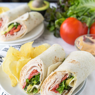 Cajun Turkey Avocado Wraps