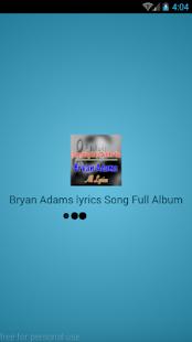 Download Bryan Adams Lyrics Best Album For PC Windows and