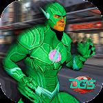 Super Flash Speed Hero vs Gangster Monster Battle Icon
