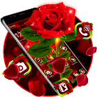 Shiny Red Rose Theme icon