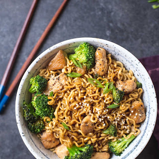 20-Minute Chicken Ramen Stir-Fry.