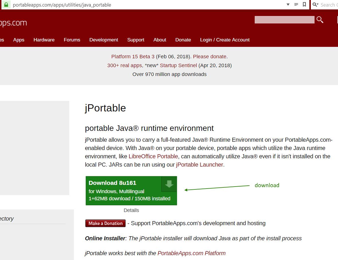 Portable Java