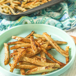 Easy Healthy Low Carb Fries.