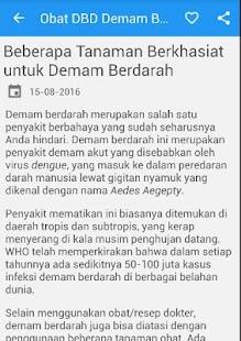 Obat DBD Demam Berdarah Alami - náhled