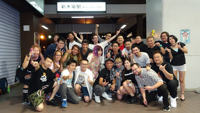 Agefarre 2018 ParaPara crew in Tokyo in Tokyo, Tokyo, Japan