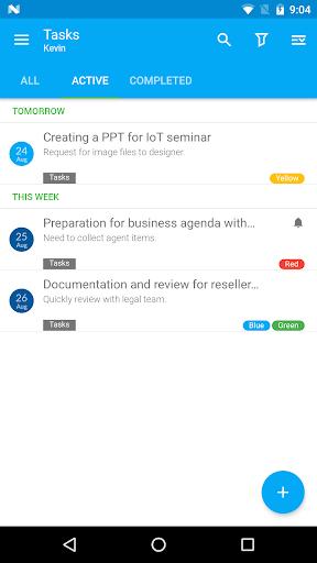 Nine Work for Android Enterprise 4.1.7h screenshots 7