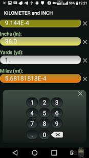 App Kilometer and Inch (km & in) Convertor APK for Windows Phone